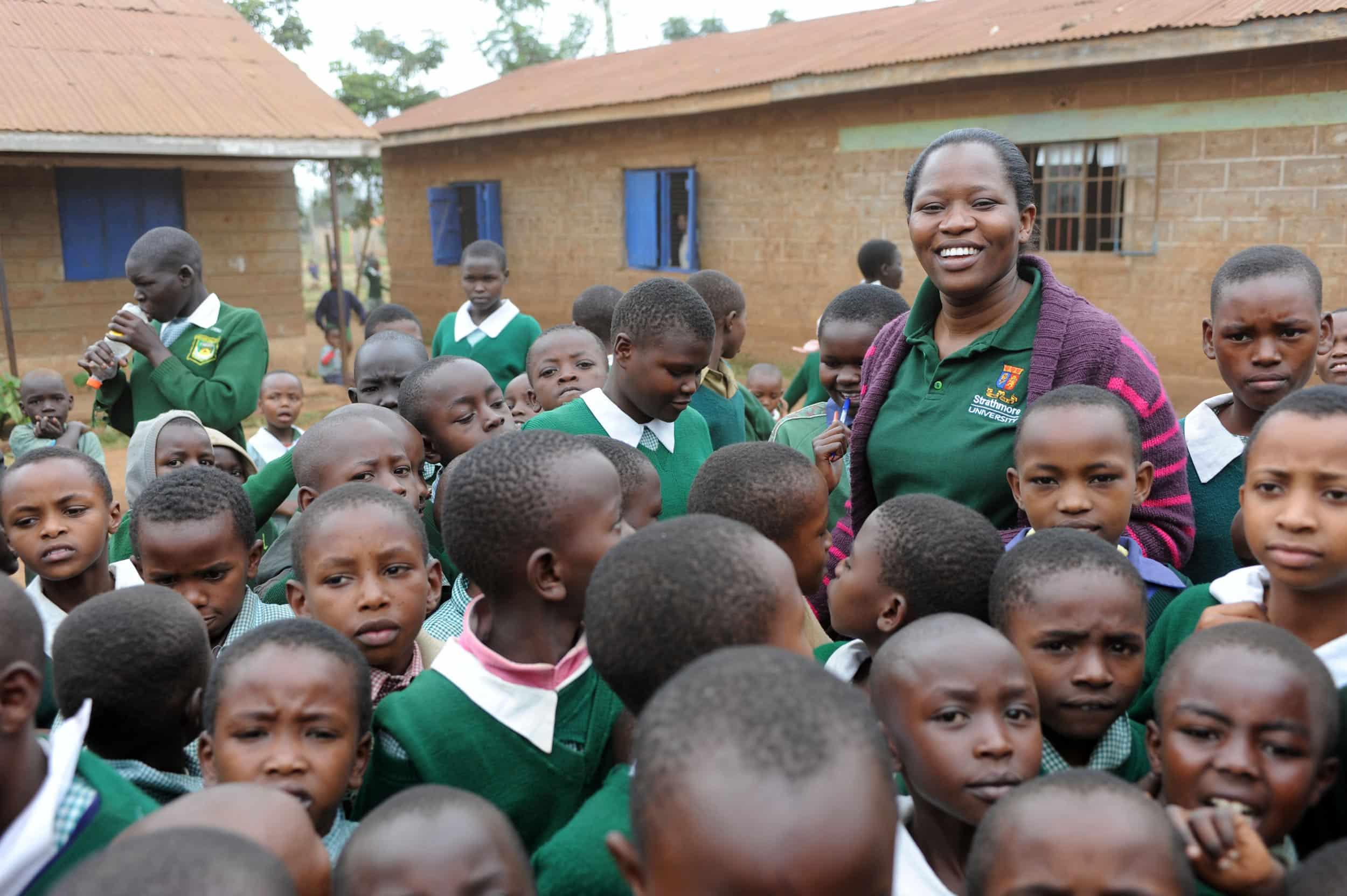 Proyecto de sanidad escolar en Baulé.