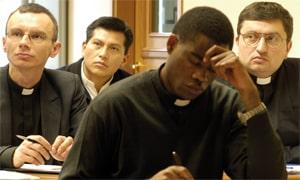 Becas de estudio en Roma para sacerdotes africanos