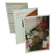Harambee España ha editado un folleto explicativo
