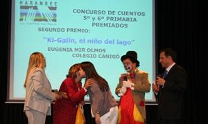 """El día 24 de abril de 2009, tuvo lugar la entrega de premios de la IV Edición del Concurso Escolar Harambee """"Comunicar África"""" en el Centro Cultural La Vaguada, en Madrid."""