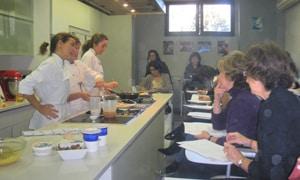El Centro de Cocina de la Revista Telva ha organizado una simpática actividad en favor de los proyectos de Harambee