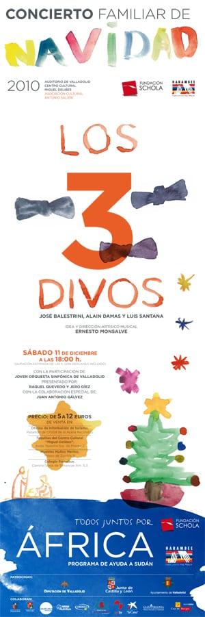 El próximo 11 de diciembre tendrá lugar en Valladolid el cuarto Concierto Familiar de Navidad en beneficio de Harambee
