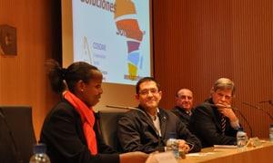 Harambee ha explicado en Zaragoza su funcionamiento y sus objetivos con el deseo de lograr una implicación de los ciudadanos de la Comunidad de Aragón y poder crear allí una delegación