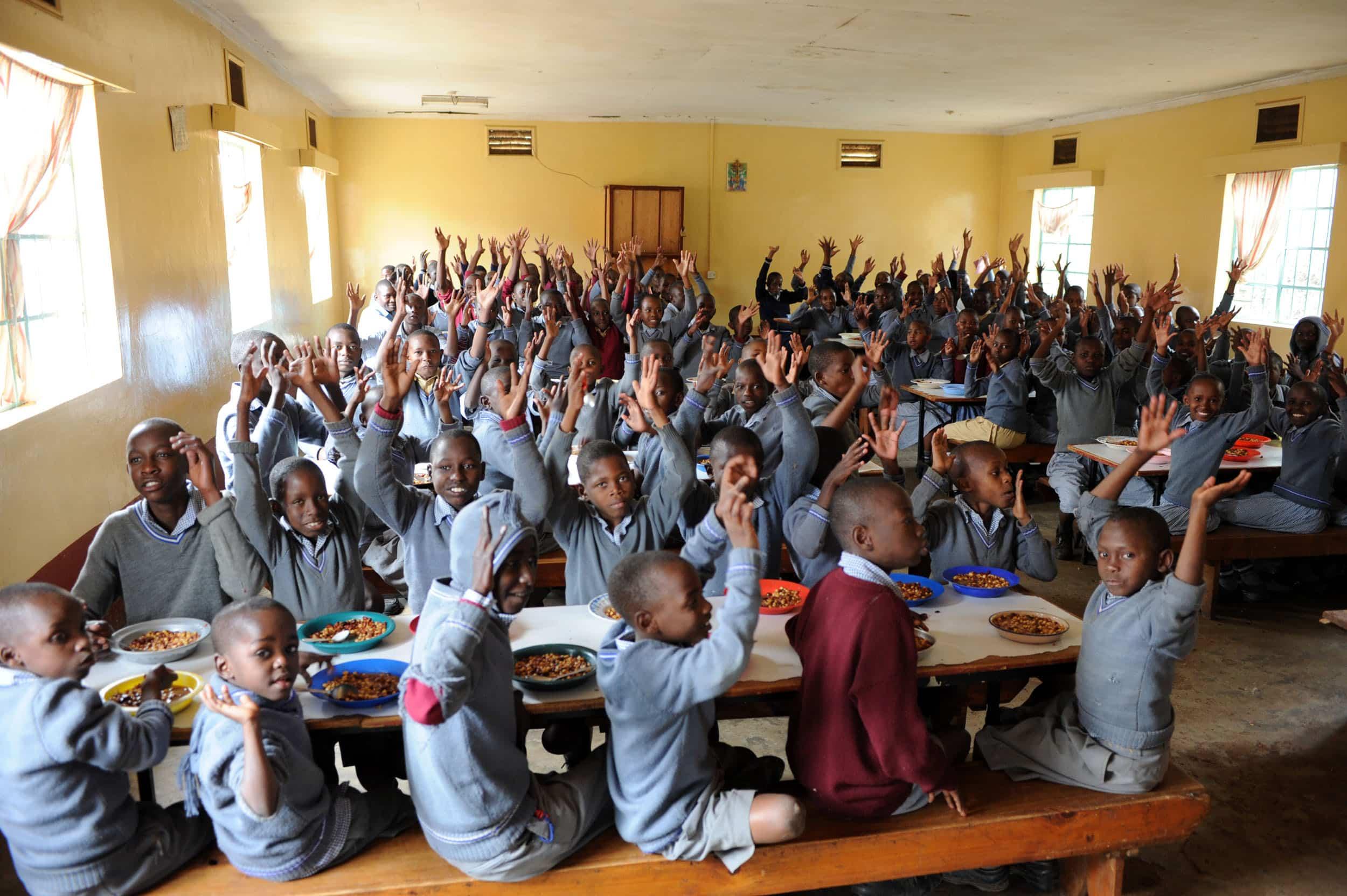Escuela primaria para Niños Marginados en Pretoria
