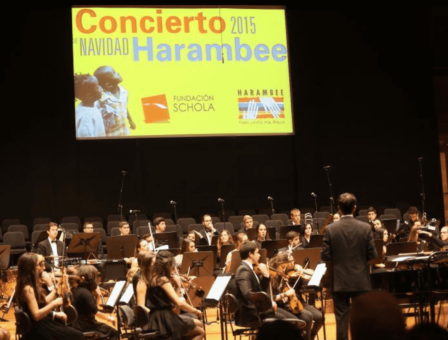 El concierto solidario de Navidad de la Fundación Schola rinde homenaje a 'Fantasía'