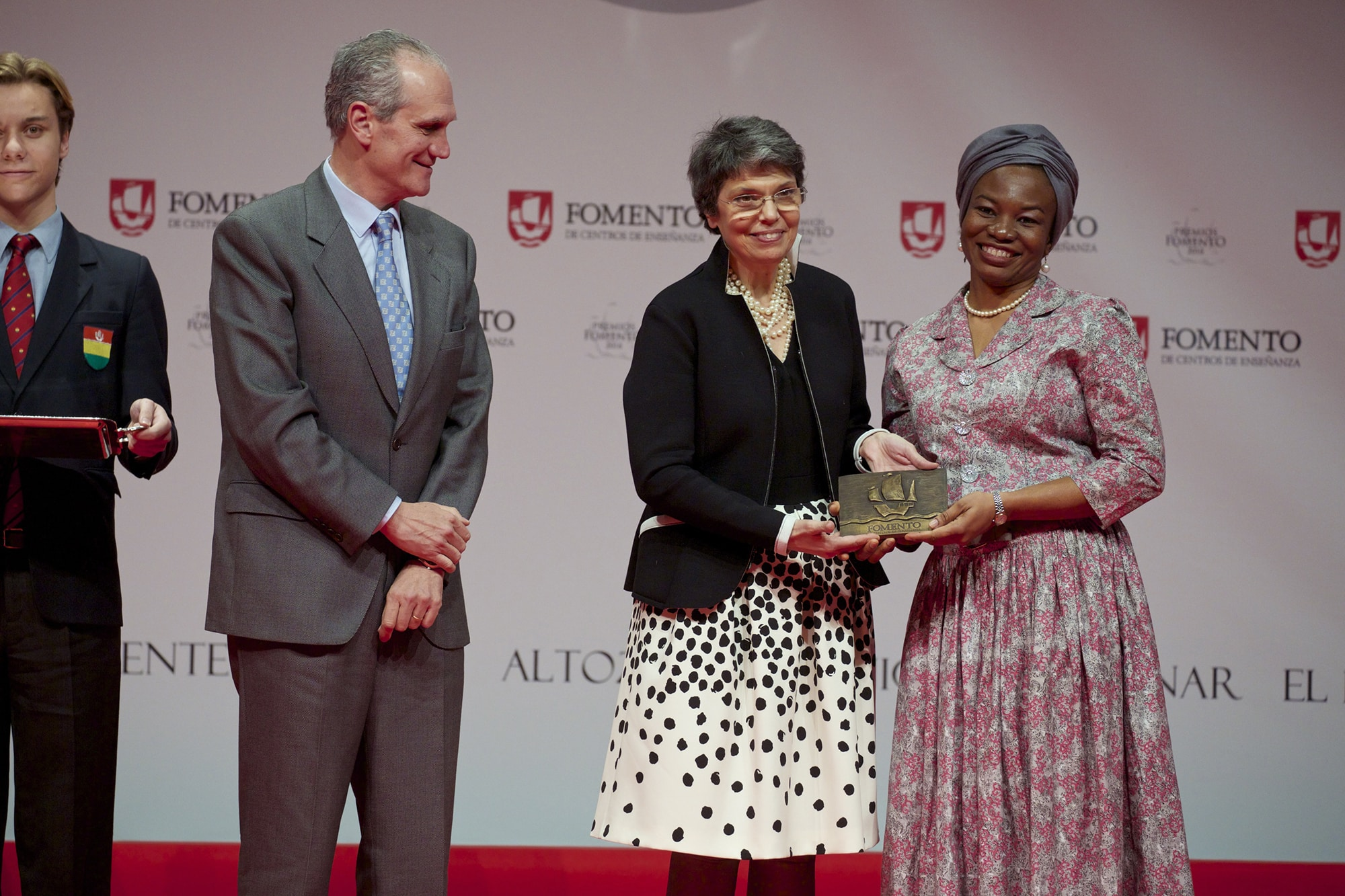 Harambee recibe el Premio Fomento 2016