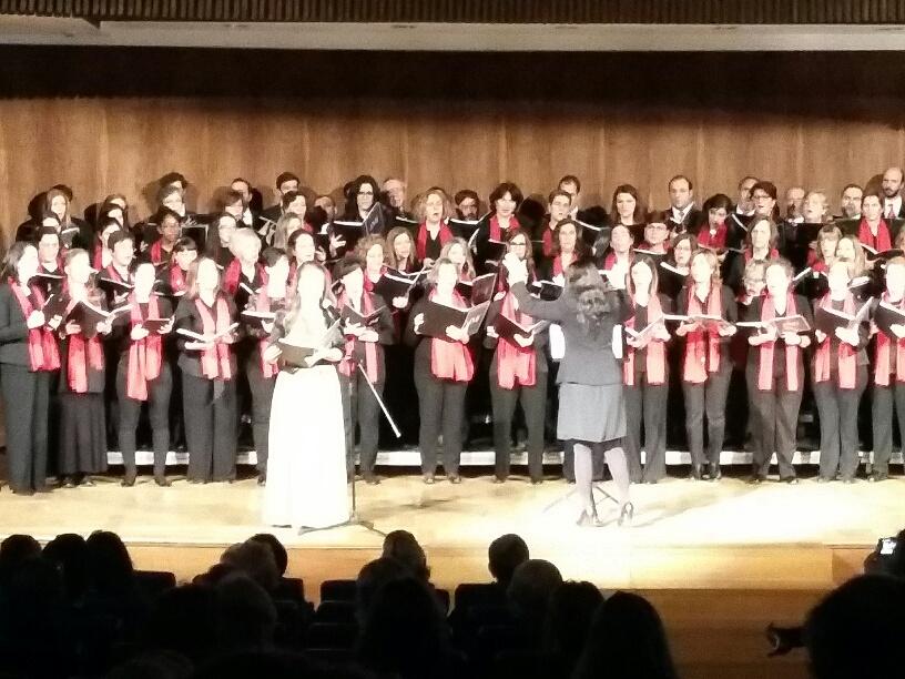 Concierto Navideño de Harambee en Madrid con el coro y la escolanía JMJ