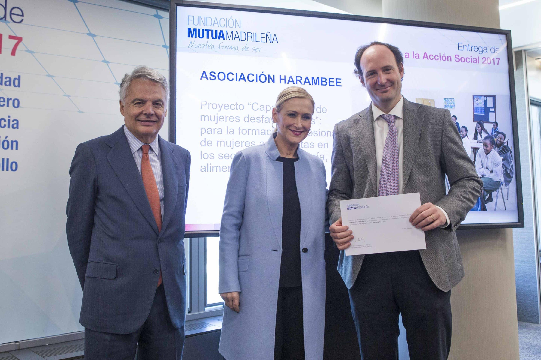 La Fundación Mutua Madrileña con Harambee