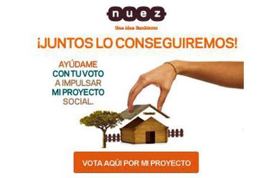 """Vota por el proyecto """"Forfait Mamá"""" en Nuez, y estarás aportando 7€"""