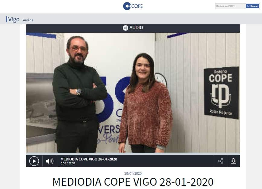 Cope | Entrevista en Mediodía Cope Vigo