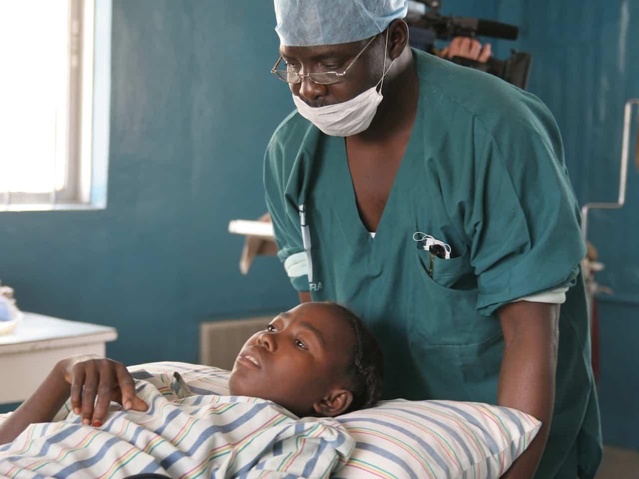 Lucha contra el SIDA en el centro Sanitario Walé